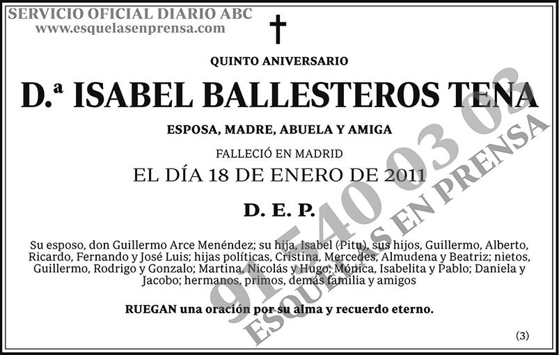 Isabel Balleteros Tena